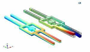 آموزش کامل شبیه سازی ژیروسکوپ دیاپازونی پیزوالکتریک با نرم افزار کامسول comsol Gyroscope